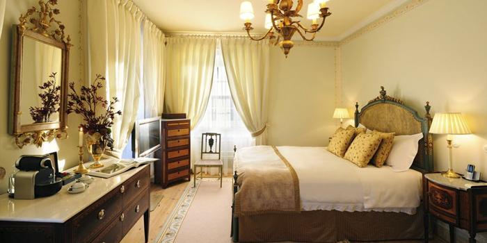 Dormir en un palacio